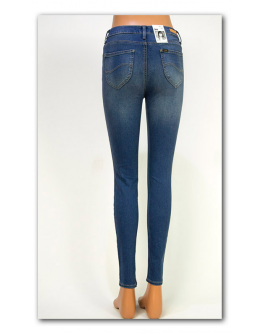 Lee SKYLER Blue Fog Jegging High Waist