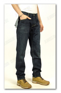 Lee CHASE Dark Worn Relaxed Tapered