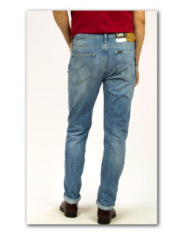 Lee ARVIN Blue Trash Regular Tapered