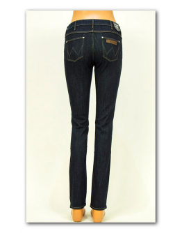 Wrangler DREW Darkest Rinse Slim Straight Regular Waist