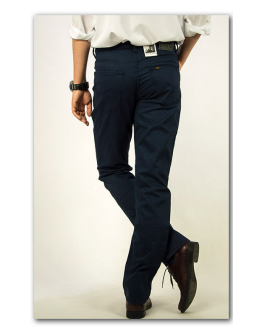 Lee BROOKLYN STRAIGHT French Navy Classic Regular