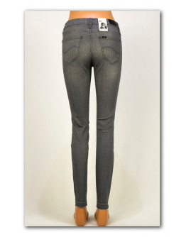 Lee SCARLETT Raw Edge Authentic Grey Skinny