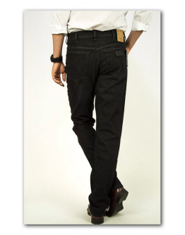 Wrangler Texas Black Stroke Original Straight
