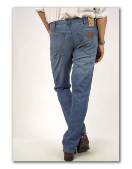 Wrangler Texas Stretch Fine Drawn Original Straight
