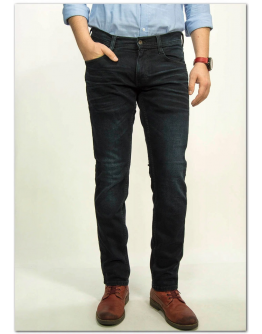 MUSTANG Oregon Tapered Denim Blue Slim Low Tapered