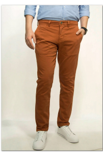MUSTANG Chino Ginger Bread Regular Medium Tapered