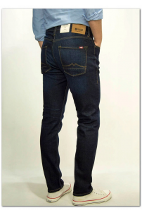 MUSTANG Vegas Rinse Denim Blue Slim Medium