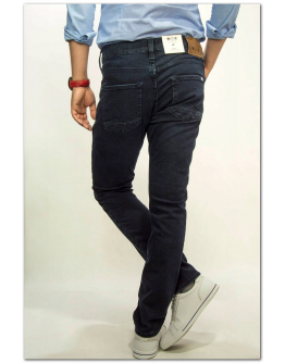 MUSTANG Vegas Denim Blue Slim Medium Tapered