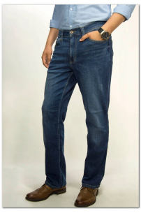 MUSTANG Tramper Denim Blue Regular Medium Straight