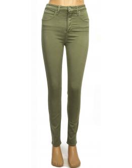 Lee SCARLETT Ultra High Lichen Green Skinny